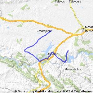 casatejada/serrejon/presa valdecañas/belvis de monroy