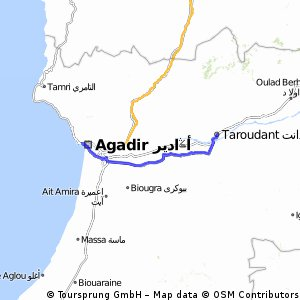 (° Tappa Taraudant - Agadir