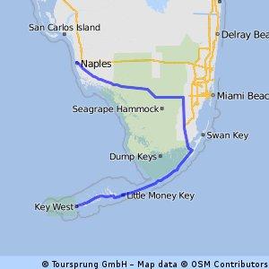 Everglades bike-route