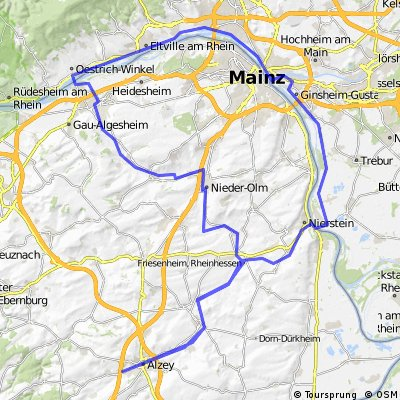 AZ-Ingelheim-Nierstein-AZ [Lasso-Route]