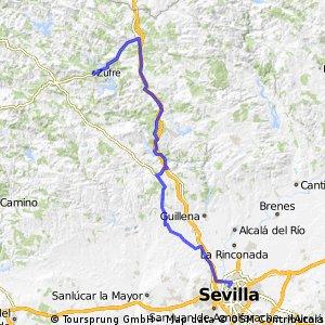 Sevilla to Zufre