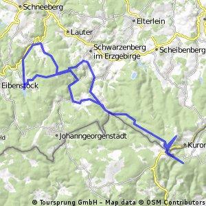 Erzgebirge/Fichtelberg/Klinovec(CSSR)