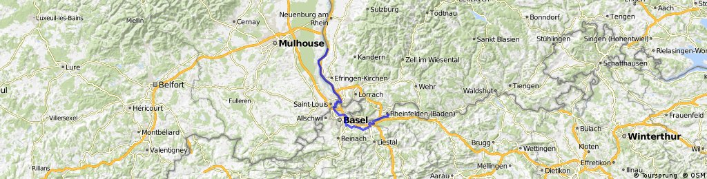 39_Rheinfelden – Basel – Bad Bellingen