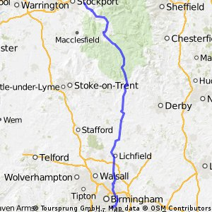Birmingham to Marple