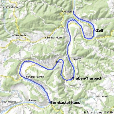 24_Bernkastel-Kues – Traben-Trarbach – Bullay