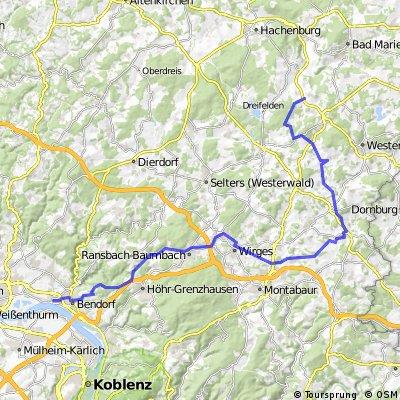 Westwald Radtour