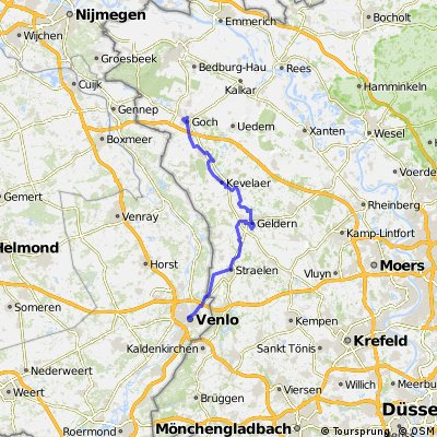 Cycling routes and bike maps in and around Venlo Bikemap Your