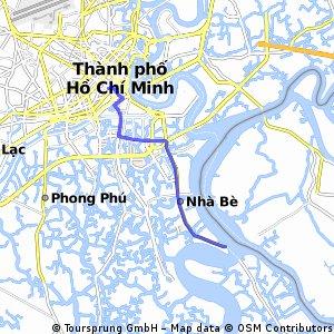 Pham Ngu Lao to Nha Be