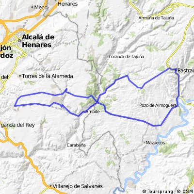 Campo Real - Pastrana por provincia GU