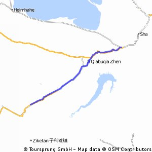 Daotanghe to Xinkazhen