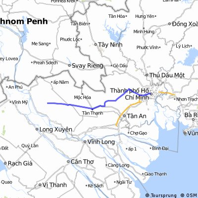 Ben Thanh Market to Tram Chim