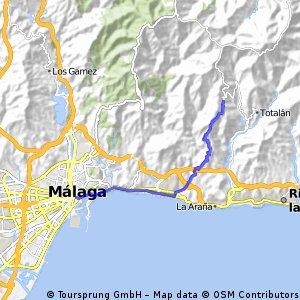 Malaga Bike Tours to Olias