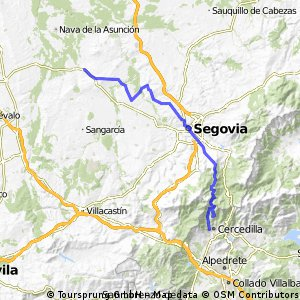 1ª Etapa Camino Santiago - Cercedilla a Santa Maria la Real de Nieva