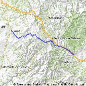 7ª Etapa Camino de Santiago - Villafranca del Bierzo a Sarria