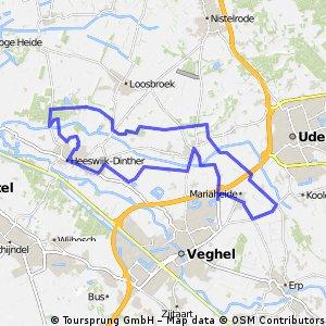 Rondje Heeswijk-Duifhuis-Heeswijk