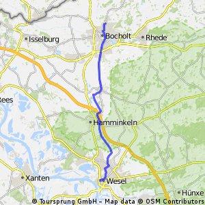 Bocholt - Wesel
