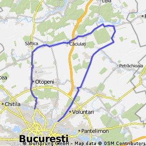 Bucuresti - Balotesti - Gradistea - Bucuresti