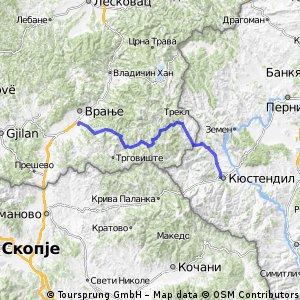 18. Kupinince - Kyustendil - 120km