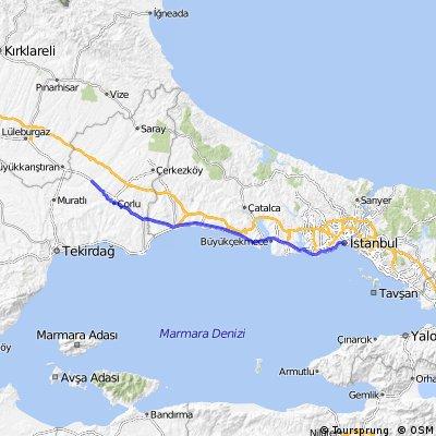24. Ulas - Istanbul - 125km