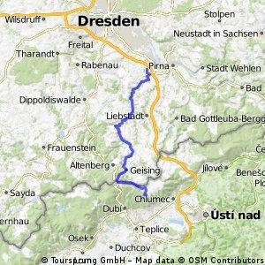 Flachetappe_Mückentürmchen - Heidenau