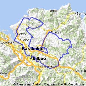 Marcha Bilbao-Bilbao 2015