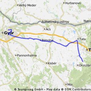 Április 24. Győr- Vértessomló