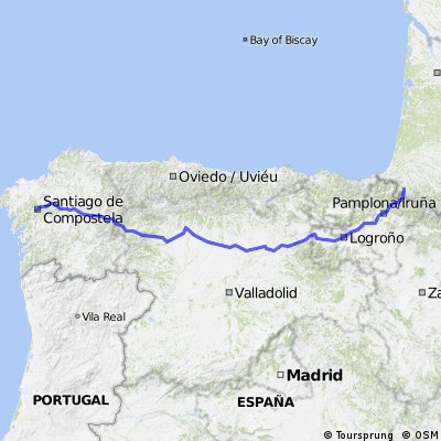 Girolibero: Cammino di Santiago da Roncisvalle a Santiago