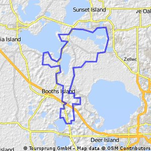 Lake Dora Florida Map.Cycling Routes And Bike Maps In And Around Mt Dora Bikemap Your