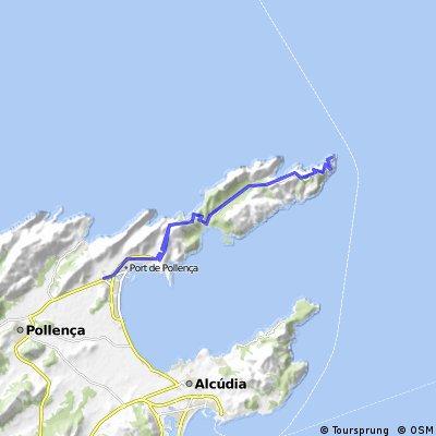 Port de Pollenca-Cap de Formentor