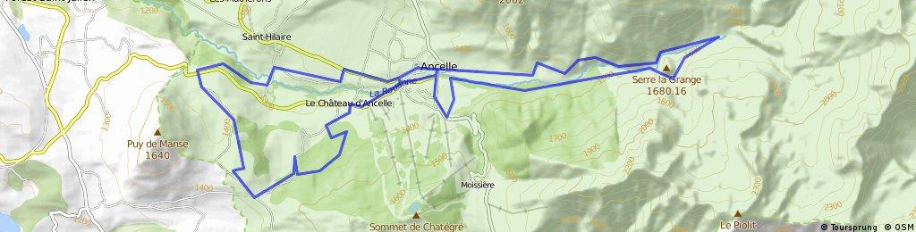 LIB - Plateau d'Ancelle et vallée de la Rouanne