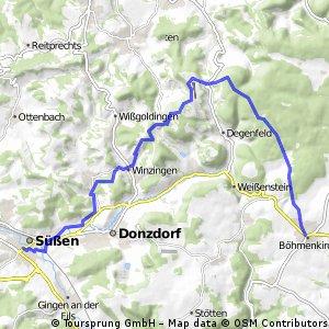 Böhmenkirch - Süßen