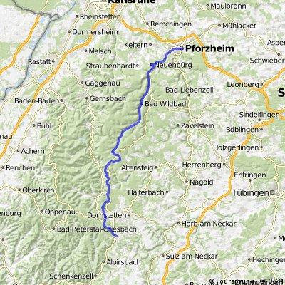 Pforzheim - Lossburg