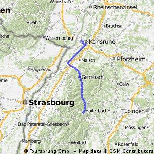 Karslruhe - Baiersbronn