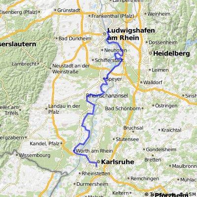 Mannheim - Karlsruhe