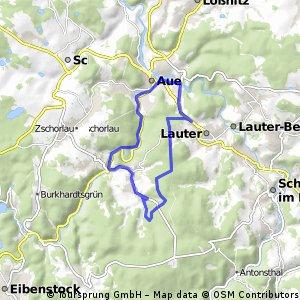 Bockau-Waldhaus-Aue-Bockau