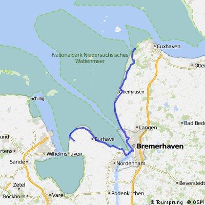 Cuxhaven - Tössen