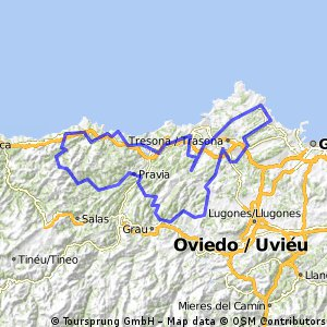Asturias Concejo a Concejo 2015. Etapa 4