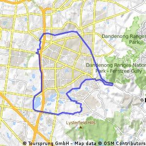 Ferntree Gully Eastlink Loop