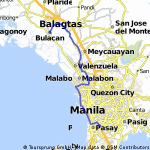 Cycling Routes And Bike Maps In And Around Bulacan Bikemap Your