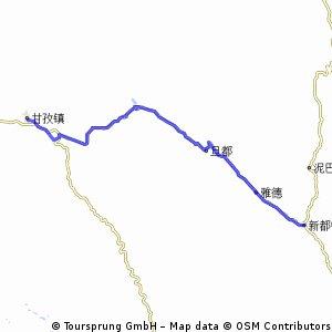 Ganzi to Luhuoxian