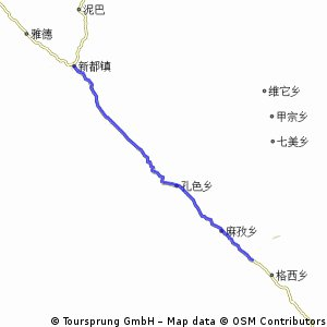 Luohuoxian to Daofuxian