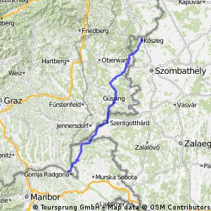3. Köszeg - Bad Radkersburg - 112km