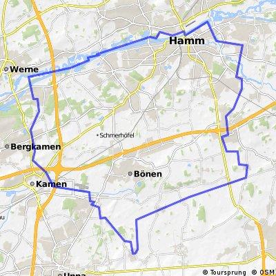 Unna-Lünern, Bad Hamm, Marina Werne