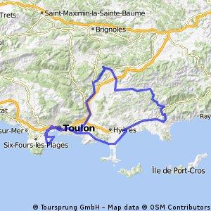 Rocbaron - Babaou - Bormes - 10 Février 15