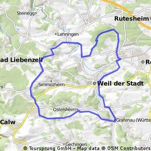 Durchs Hecken- und Schlehengäu