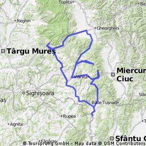 Hargita-hegyság Biciklitúra