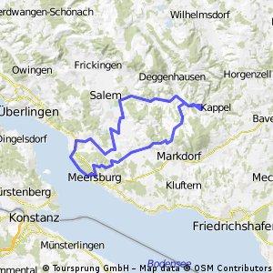 Vom Meersburg zum Gehrenberg