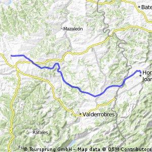 Vía Verde Vall de Zafán