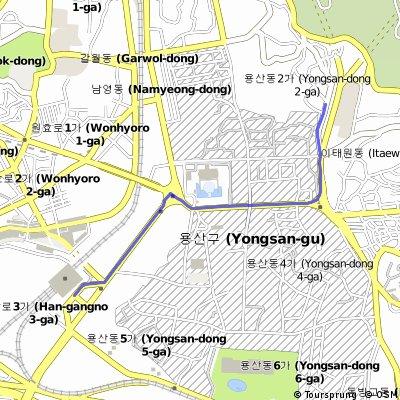 Way to yongsan