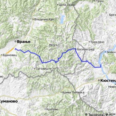 20. Kupinince - Razhdavitsa - 115km